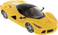 Купить Junfa Toys Машинка инерционная Racing Bicycle цвет желтый 301-2A, Машинки