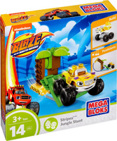 Купить Mega Bloks Вспыш Конструктор Stripes Jungle Stunt, Mega Bloks/Mega Construx, Конструкторы