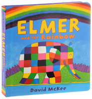 Купить Elmer and the Rainbow, Зарубежная литература для детей