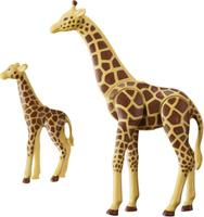Купить Playmobil Игровой набор Зоопарк Жираф с детенышем, Игровые наборы