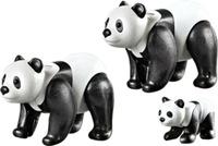 Купить Playmobil Игровой набор Зоопарк Семья панд, Игровые наборы