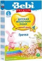 Купить Bebi Премиум каша гречневая молочная, с 4 месяцев, 200 г, Детское питание