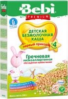 Купить Bebi Премиум каша гречневая низкоаллергенная с пребиотиками, с 4 месяцев, 200 г, Детское питание