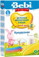 Купить Bebi Премиум каша кукурузная молочная, с 5 месяцев, 200 г, Детское питание