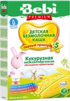 Купить Bebi Премиум каша Кукурузная низкоаллергенная с пребиотиками, с 5 месяцев, 200 г, Детское питание