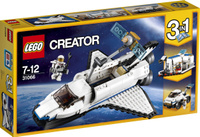 Купить LEGO Creator Конструктор Исследовательский космический шаттл 31066, Конструкторы