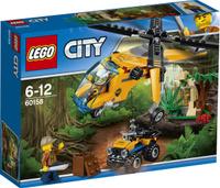 Купить LEGO City Jungle Explorer Конструктор Грузовой вертолет исследователей джунглей 60158, Конструкторы