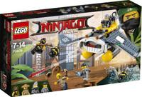 Купить LEGO NINJAGO Конструктор Бомбардировщик Морской дьявол 70609, Конструкторы