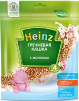 Купить Heinz каша гречневая с молоком, с 4 месяцев, 250 г, Детское питание