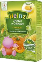 Купить Heinz каша пшенично-кукурузная с тыквой, с 5 месяцев, 200 г, Детское питание