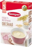 Купить Semper каша овсяная молочная каша, с 5 месяцев, 200 г, Детское питание