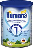 Купить Humana Эксперт 1 адаптированная сухая молочная смесь с рождения, до 6 месяцев, 350 г, Заменители материнского молока и сухие смеси