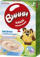 Купить Винни каша овсяная с пребиотиками молочная, с 5 месяцев, 200 г, Детское питание