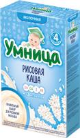 Купить Умница каша рисовая молочная, с 4 месяцев, 200 г, Детское питание
