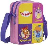 Купить Три кота Сумка детская на плечо CTEB-UT1-4068, Kinderline International Ltd., Ранцы и рюкзаки