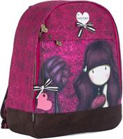 Купить Santoro Рюкзак Gorjuss цвет бордовый коричневый, Kinderline International Ltd., Ранцы и рюкзаки