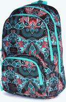 Купить UFO People Рюкзак цвет черный бирюзовый 7651, Xiamen Li Feng Yuan Import And Export Co. LTD, Ранцы и рюкзаки