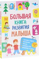 Купить Большая книга развития малыша, Общая подготовка к школе