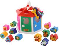 Купить Полесье Сортер Логический домик, Развивающие игрушки