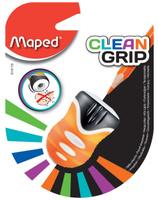 Купить Maped Точилка Clean Grip цвет оранжевый, Чертежные принадлежности
