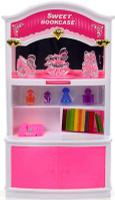 Купить DollyToy Мебель для кукол Книжный шкаф, Куклы и аксессуары