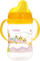 Купить Lubby Поильник-непроливайка Веселые животные от 6 месяцев цвет желтый 250 мл, Поильники