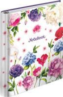 Купить ArtSpace Тетрадь на кольцах Цветы 120 листов в клетку, Тетради