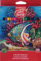 Купить Erich Krause Набор цветных карандашей 18 шт, Карандаши