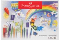 Купить Faber-Castell Блокнот для рисования 15 листов формат А3, Бумага и картон