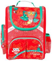 Купить Polar Ранец школьный цвет красный, Полар Центр, Ранцы и рюкзаки