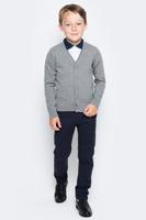Купить Кардиган для мальчика Overmoon by Acoola Pont, цвет: темно-серый. 21100130002_2000. Размер 164, Одежда для мальчиков