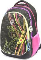 Купить Рюкзак детский UFO people цвет черно-фиолетовый 7643, XIAMEN LI FENG YUAN IMPORT AND EXPORT, Ранцы и рюкзаки