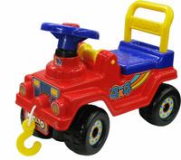 Купить Полесье Автомобиль-каталка Джип 4х4 №2 цвет красный, Каталки, понициклы