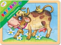Купить Step Puzzle Пазл для малышей Каруселька Коровка, Степ Пазл ЗАО (Россия), Обучение и развитие