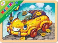 Купить Step Puzzle Пазл для малышей Каруселька Машина, Степ Пазл ЗАО (Россия), Обучение и развитие