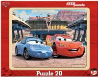 Купить Step Puzzle Пазл для малышей Тачки 89122, Степ Пазл ЗАО (Россия), Обучение и развитие
