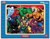 Купить Step Puzzle Пазл для малышей Герои, Степ Пазл ЗАО (Россия), Обучение и развитие