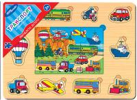 Купить Step Puzzle Пазл для малышей Транспорт, Степ Пазл ЗАО (Россия), Обучение и развитие