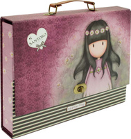 Купить Santoro Папка-портфель Oops a Daisy цвет фиолетовый, Santoro London, Ранцы и рюкзаки