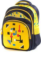 Купить Vittorio Richi Рюкзак цвет темно-синий желтый K07R166903, Ранцы и рюкзаки
