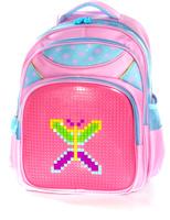 Купить Vittorio Richi Рюкзак цвет розовый голубой K07R169801, Ранцы и рюкзаки