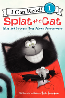 Купить Splat the Cat: Splat and Seymour, Best Friends Forevermore: Level 1, Зарубежная литература для детей