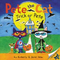 Купить Pete the Cat: Trick or Pete, Зарубежная литература для детей