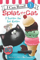 Купить Splat the Cat: I Scream for Ice Cream: Level 1, Зарубежная литература для детей
