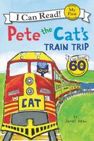 Купить Pete the Cat's Train Trip (My First I Can Read), Зарубежная литература для детей