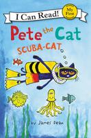 Купить Pete the Cat: Scuba-Cat: Level My First, Зарубежная литература для детей
