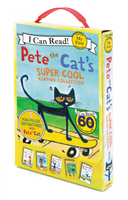 Купить Pete the Cat's Super Cool Reading Collection 5 books (My First I Can Read), Зарубежная литература для детей
