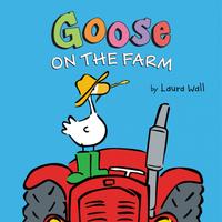 Купить Goose on the Farm Board Book, Первые книжки малышей
