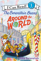 Купить Berenstain Bears Around the World (level 1), Зарубежная литература для детей
