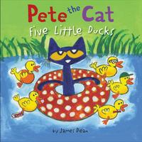 Купить Pete the Cat: Five Little Ducks, Зарубежная литература для детей